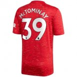 Maillot Manchester United NO.39 McTominay 1ª 2020-21 Rouge