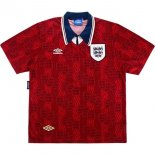 Thailande Maillot Angleterre 2ª Retro 1994 Rouge