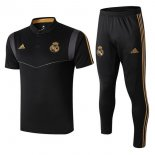 Polo Conjunto Complet Real Madrid 2019-20 Noir Gris