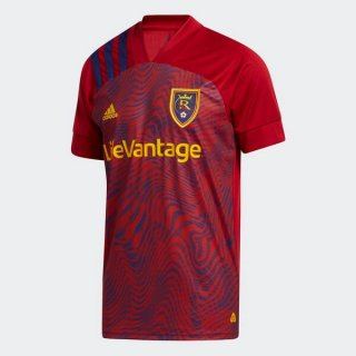 Thailande Maillot Real Salt Lake 1ª 2020-21 Rouge