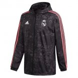 Coupe Vent Real Madrid 2021-22 Noir Rose