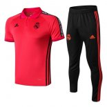 Polo Conjunto Complet Real Madrid 2019-20 Rouge Noir