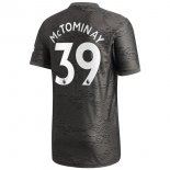Maillot Manchester United NO.39 McTominay 2ª 2020-21 Noir