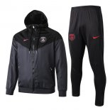 Coupe Vent Conjunto Complet Paris Saint Germain 2019-20 Noir Rose