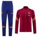 Survetement Barcelone 2020-21 Purpura Rouge
