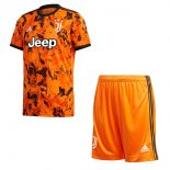 Maillot Juventus 3ª Enfant 2020-21 Orange