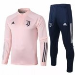 Survetement Juventus 2020-21 Rose Bleu