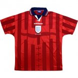 Thailande Maillot Angleterre 2ª Retro 1998 Rouge