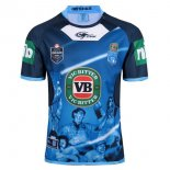 Thailande Maillot NSW Blues Classic Capitanes TRUE Bleue 2017 2018 Bleu