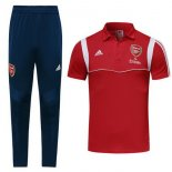 Polo Conjunto Complet Arsenal 2019-20 Rouge